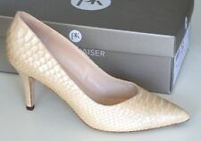 Peter Kaiser Womens Elektra Powder Snake High Heel Court UK Size 3.5