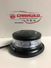 COBO MINI LAMPEGGIANTE A LED BLU BASE PIANA 3 VITI MAGNETICA 12/24V