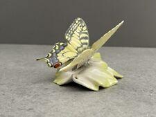 Hutschenreuther Porzellanfigur Schmetterling  sign. Achziger