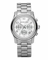 New Michael Kors MK5076  Ladies Stainless Chronograph Women Watch - UK Seller