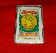Emperador Matizado Pronaco S.A. Deck of Cards Mexico 40 Total Cards