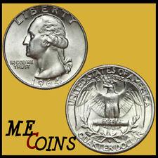 1964 D Washington Silver Quarter Dollar, UNC Uncirculated, US Mint COin
