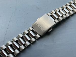 SEIKO 8MM PRESIDENT STAINLESS STEEL WATCH STRAP FLAT LUGS FOR SEIKO watch.