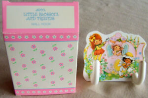 "Vintage 1984 Avon ""LITTLE BLOSSOM & FRIENDS"" Wall Hook - Brand NEW!"