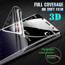 For Apple iPhone XS Max 8 7 XR 3D Hydrogel Screen Protector Full Coverage Film