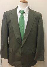 $298 Bancroft Men's Olive Green Business Suit 44L 38x30