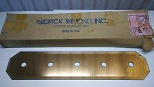 "Vintage Fredrick Ramond  26"" x 5.5"" Polished Brass Peach Mirror Strip-Lite 4505"