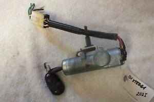 2000 2001 2002 2003 2004 Nissan Xterra Ignition Switch w/Key & Fob OEM 2112I