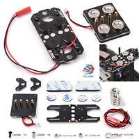 Für 1:10 SCX10 D90 TRX-4 Crawler Auto Lkw Skala Magnet Netzteil Body Post Set