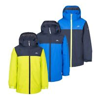 Trespass Mikael Boys Waterproof Padded Jacket With Hood