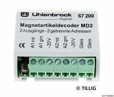 MD2 Magnetartikeldecoder 67200 Uhlenbrock Neu!!!