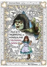 L'incubo di Alice nel paese delle meraviglie da colorare due: attraverso il vetro-alla ricerca di un