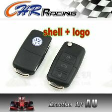 Remote Key Case Shell VW BEETLE JETTA PASSAT GOLF Rabbit MK4 MK5 R32 GTI