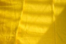 Yellow knit fabric.