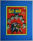 BATMAN #44 Cover Pin up Poster w Joker DC MATTED & Frame Ready