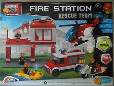 Centrale ANTINCENDIO Elicottero di Soccorso / Fire Truck / risposta BICI / controllo VAN + 5 funzionari