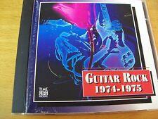 A.V. GUITAR ROCK 1974-75  CD GRAND FUNK NAZARETH BAD COMPANY ALICE COOPER