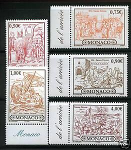 MONACO TIMBRES 2418-2422 NEUF XX - LUXE