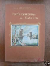 RÉCITS DE CHARENTE & GASCOGNE Paul Duval 1934 ill Druet