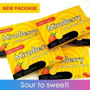 1 Pack 10 Miracle Berry Tablet Fruit Fruities mBerry Sour To Sweet Gift Present