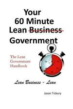 Your 60 Minute Lean Government - Lean Government Handbook, Brand New, Free sh.