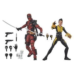 Hasbro Marvel Legends Series 6-inch Collectible Premium Deadpool & Negasonic