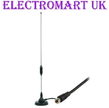 DAB DIGITAL RADIO PORTABLE INDOOR AERIAL ANTENNA SCREW F TYPE PLUG FITTING