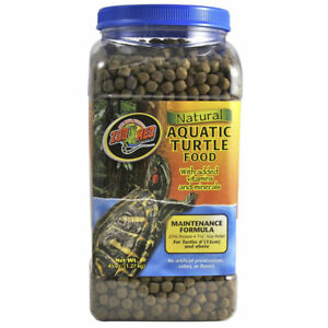 Zoo Med Aquatic Turtle Food Maintenance 1.27Kg Complete Turtle and Terrapin Diet