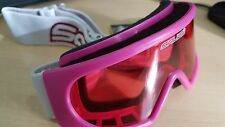 Salice ski goggles 'Junior Racer' Pink with pink lens