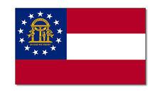 2 X emblema de Georgia EE. UU. bandera Auto Adhesivo Pegatinas Coche Furgoneta Camión Taxi Camión