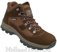 Men's Hiking Walking Boots Waterproof Brown Rambler Walking Trainer shoe