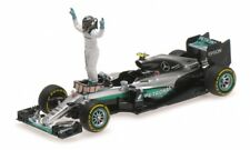 1 43 Minichamps Mercedes F1 W07 GP Abu Dhabi World Champ Rosberg 2016