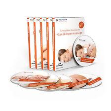 Profi MASSAGE Heimstudium (Serie1): 5 DVDs + Praxis-Handbuch / Massage-Anleitung