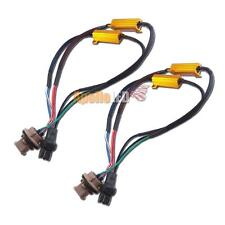 2pcs 7443 Hyper Flash Fix Error Free 100W Decoders For Car LED Signal Lights