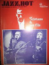 JAZZ HOT N° 325 TRISTANO ET FILS WARNE MARSH EDDIE BURNS ARCHIE SCHEEP 1976