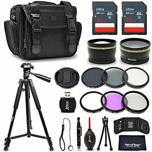 52mm Accessories Bundle Kit for Nikon D3400 D3300 D3200 D3100 D5500 D5600 D5300