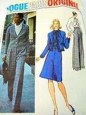 Vogue Sewing Pattern Givenchy 2920 Size 12 Jacket Blouse Skirt Pants Paris Orig