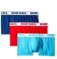 NWT Diesel Shawn. Sz M. Men's 3 Pack. Cotton. Boxer, Multi-Color. MRSP $39.00