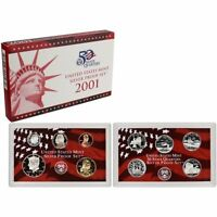 (1) 2001 United States Silver Proof Set in Original Box
