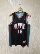 MEMPHIS GRIZZLIES #16 PAU GASOL NBA BASKETBALL SHIRT JERSEY CHAMPION