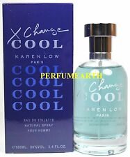 X Change Cool By Karen Low 3.3/3.4oz. Edt Spray For Men New In Box