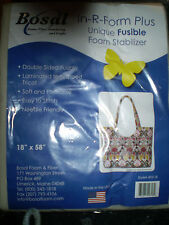 "Bosal In-R-Form Plus Double-Sided Fusible Foam Stabilizer 18"" x 58"""