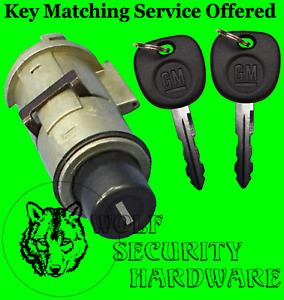 Chevy Suburban Tahoe GMC Yukon 01-02 Liftgate Push Style Lock Cylinder 2 GM Keys