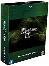 """BREAKING BAD COMPLETE SERIES 1-5 COLLECTION BOX SET 15 DISC BLU-RAY REG B """"NEW"""""""