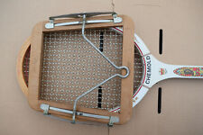 Vintage Dunlop Tennis Racket Brace Frame With Chemold Racket