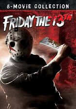 Friday The 13th Complete Collection Limited Edition 8 Disc Movie DVD New Box Set