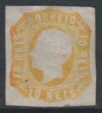 PORTUGAL - 1862/4,10R orange jaune - 4 MARGES - Excellent état sans gomme - SG