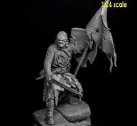 1:24 Medieval Knight Scale Resin Figure