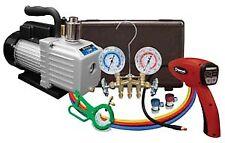 Mastercool 90062 B Kit Tecnicians Shop Value Pack With Vacuum Pump Leak Detector