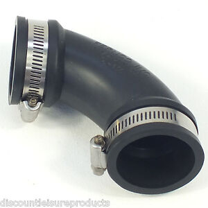 Flexible RUBBER Pipe Fitting - Straight/Elbow/Tee/Reducer - Pond/Drainage/Boat